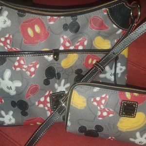 Disney Doony & Burke purse and wallet